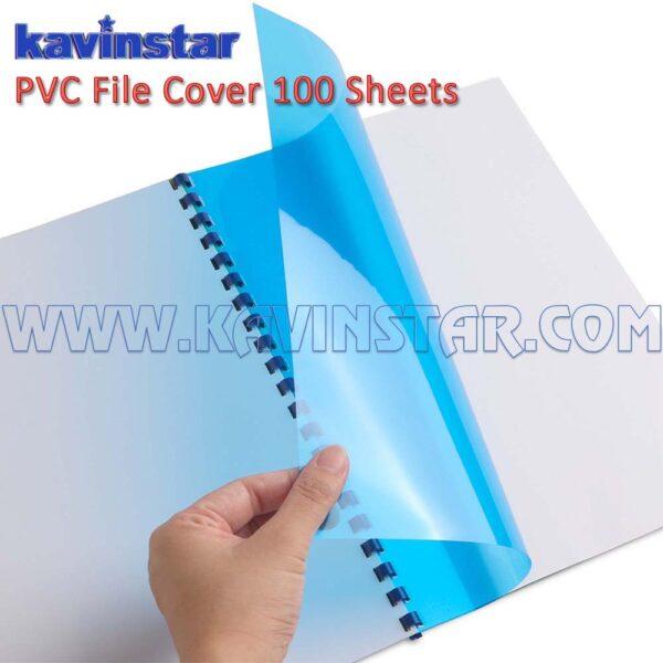 spiral binding transparent sheets