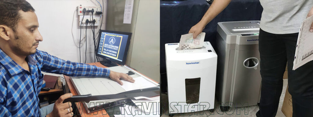 Paper Cutter and Paper Shredder Machine