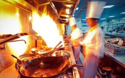 Commercial Kitchen Odor Removal