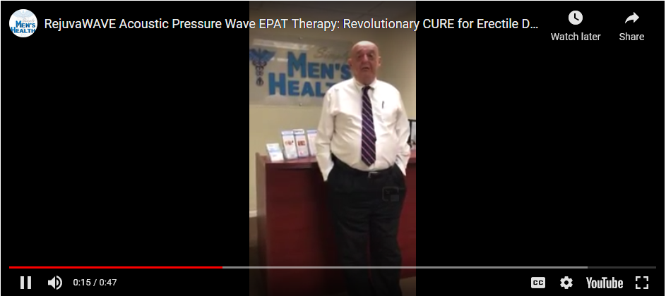 RejuvaWAVE® the gold standard in ED Shockwave therapy
