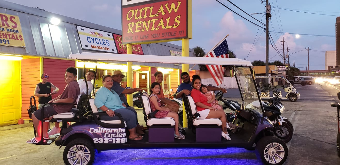 Outlaw Rentals - California Cycles 14932 Front Beach Road Panama City Beach