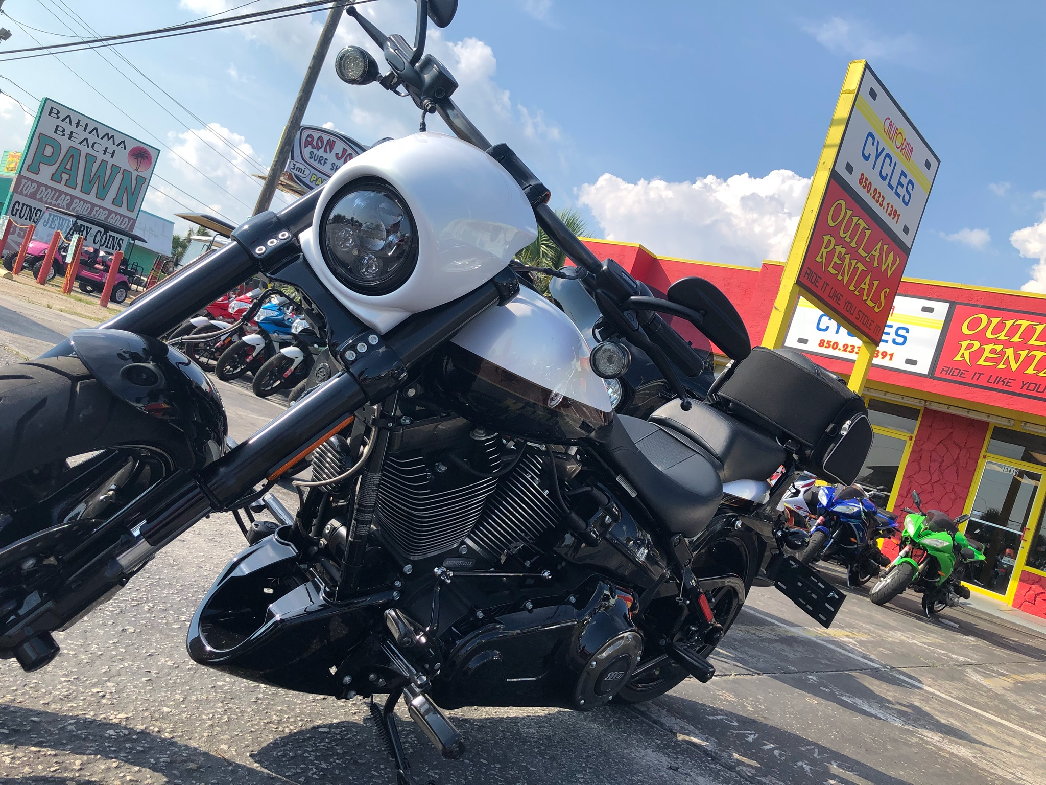 California Cycles - Outlaw Rentals - Motorcycle Rental in Panama City Beach