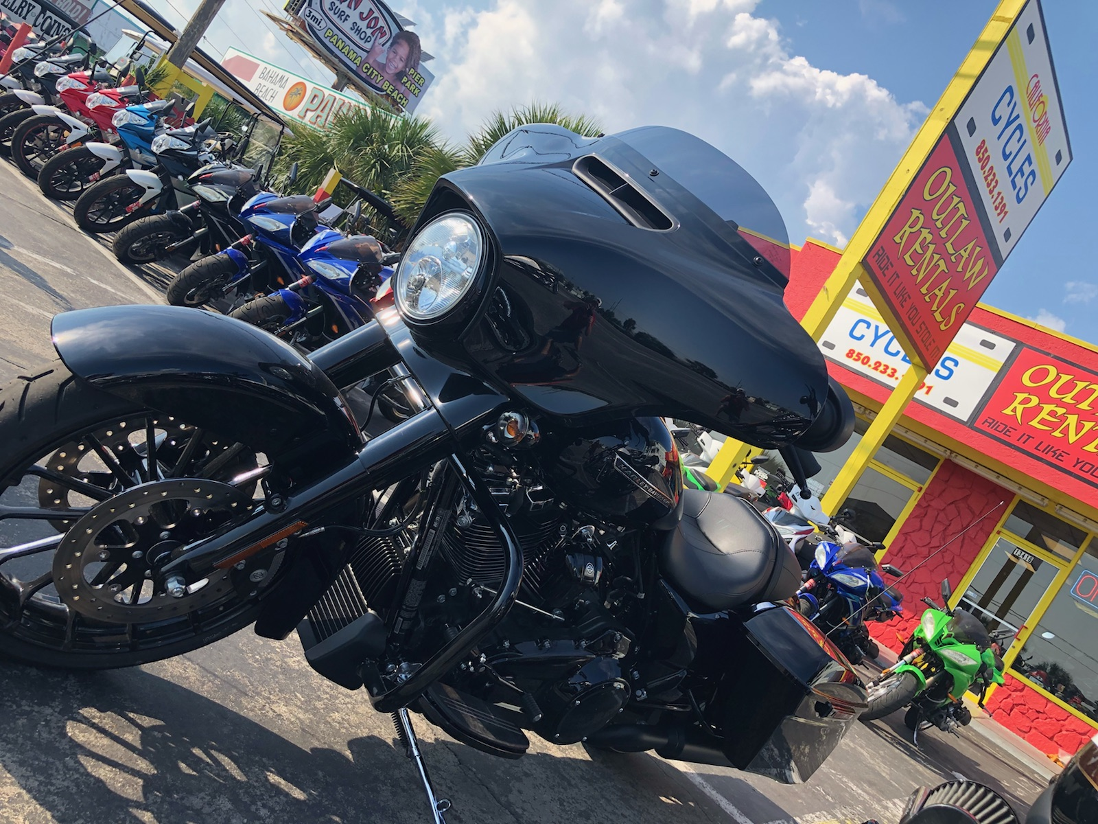California Cycles - Outlaw Rentals - Motorcycle Rentals in Panama City Beach