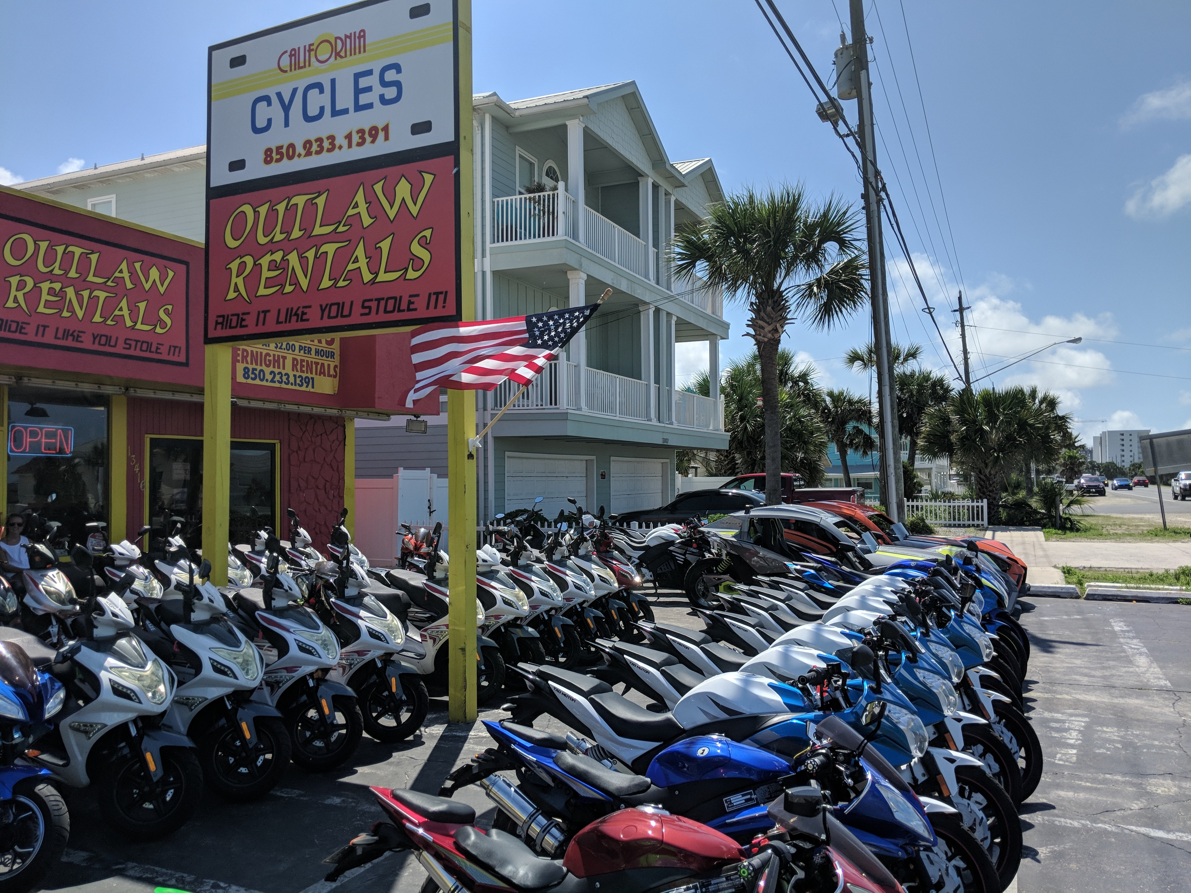 Outlaw Rentals - Scooter Rentals Panama City Beach