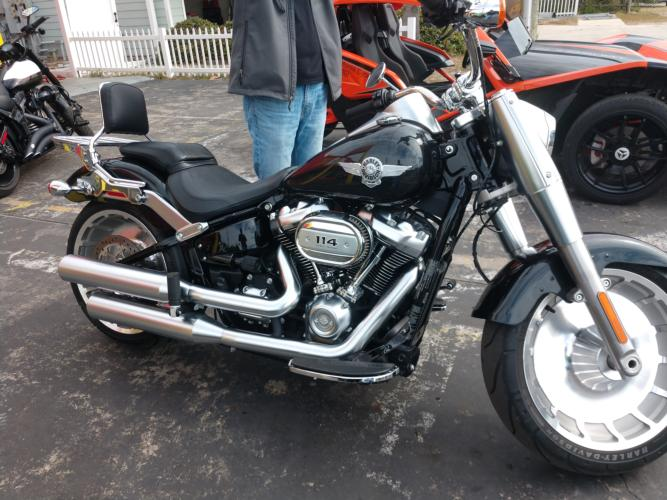 Harley Davidson - Fatboy - California Cycles - Outlaw Rentals - Motorcycle Rentals in Panama City Beach