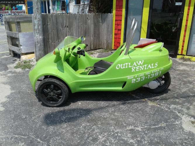 Outlaw Rentals - Panama City Beach Scoot Coupe Rentals
