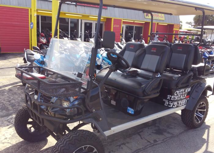 Outlaw Rentals - Street Legal Golf Cart Rentals in Panama City Beach