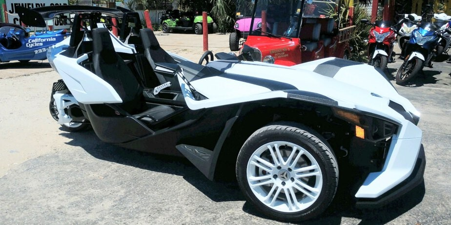 Polaris Slingshot Rentals in Panama City Beach