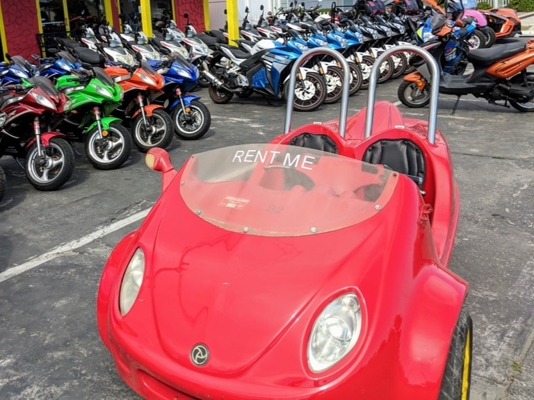 Outlaw Rentals - Panama City Beach - Scoot Coupe - Scoot Car Rentals