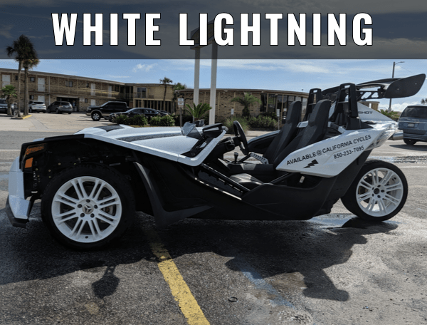 California Cycles - Panama City Beach - Polaris Slingshot Rentals