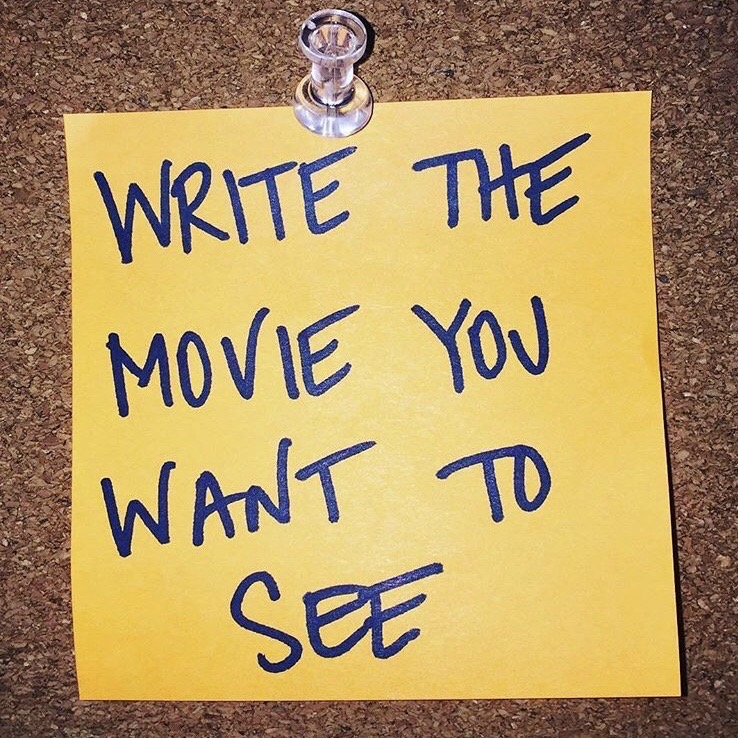 Write the Movie You Want To See Jay Fingers