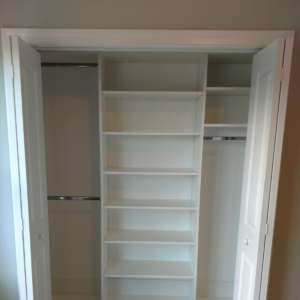 Chattanooga System Reach in Closets Design