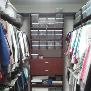 Custom System Master Closets Chattanooga