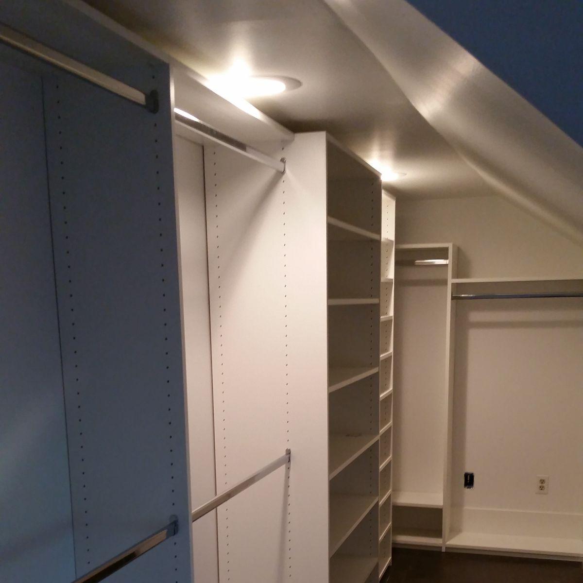 Custom Walk-In Closets Chattanooga