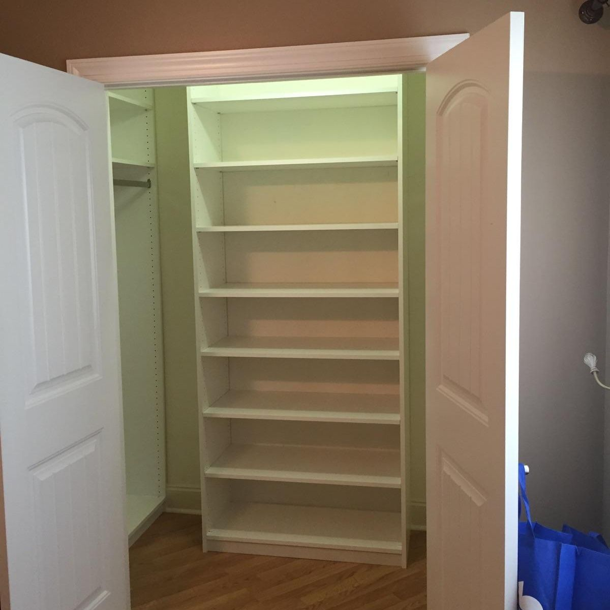 Walk-In Closets System Chattanooga