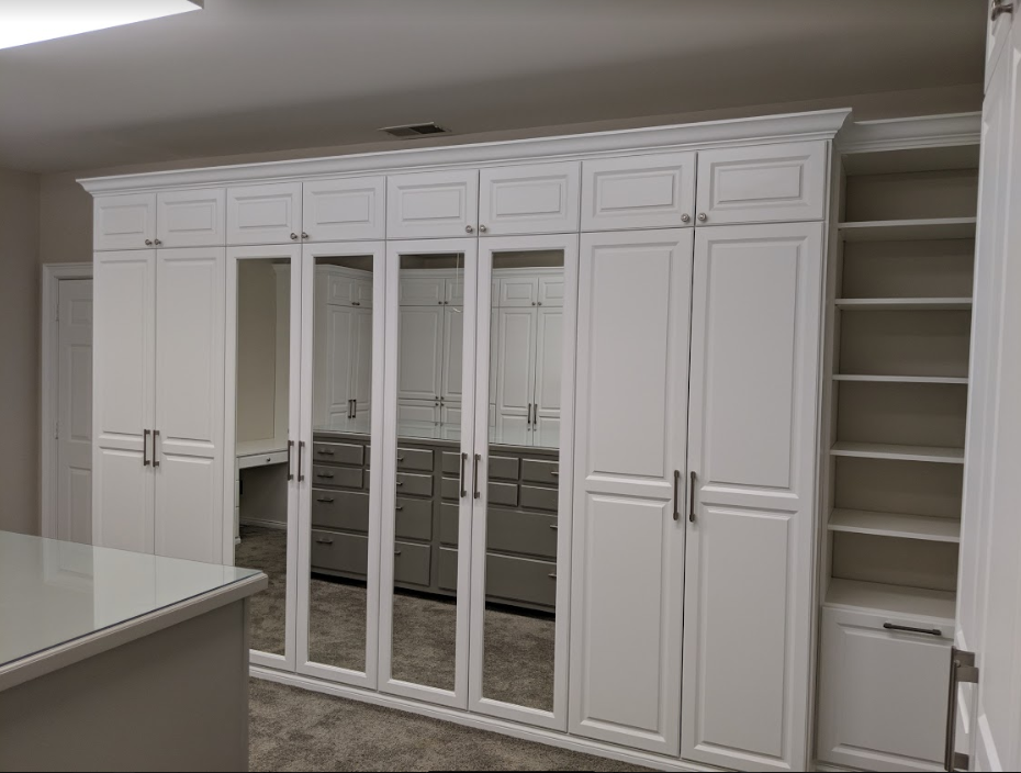 Custom walk-in closet chattanooga