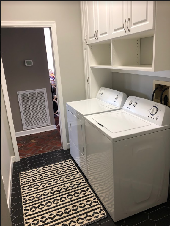 custom laundry room chattanooga