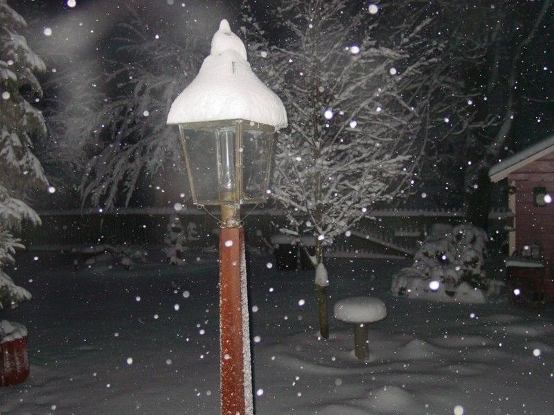 Snowstorm at the Cobbler Shop