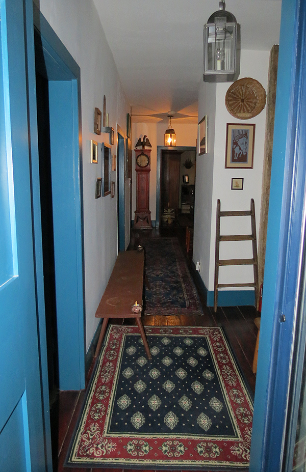 Cobbler Shop upstairs hallway
