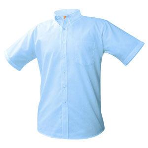 shortsleeve button oxfor shirt