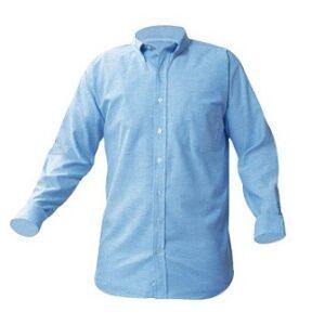 long sleeve button oxford shirt