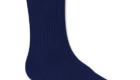 navy crew sock