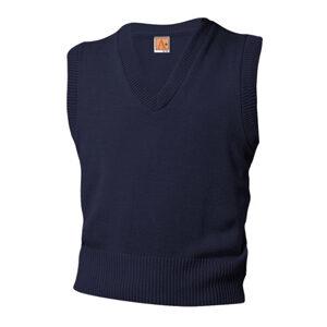 navy sweater vest