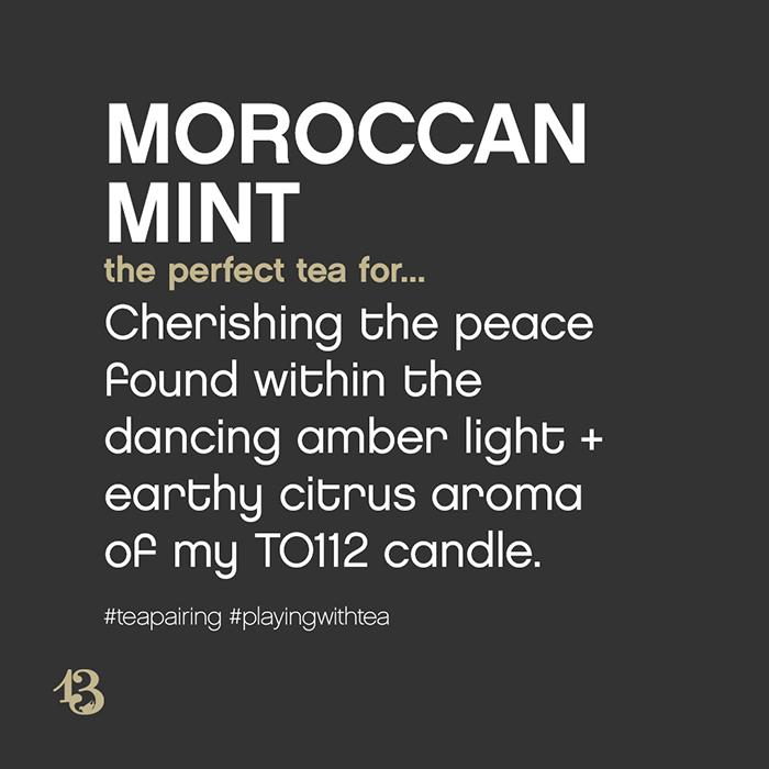 Moroccan Mint :: tea pairing