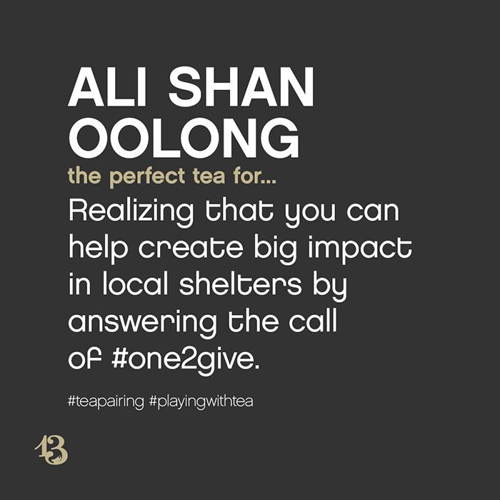 ali shan oolong :: tea pairing
