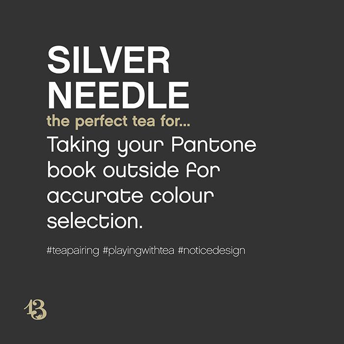 silver needle :: tea pairing