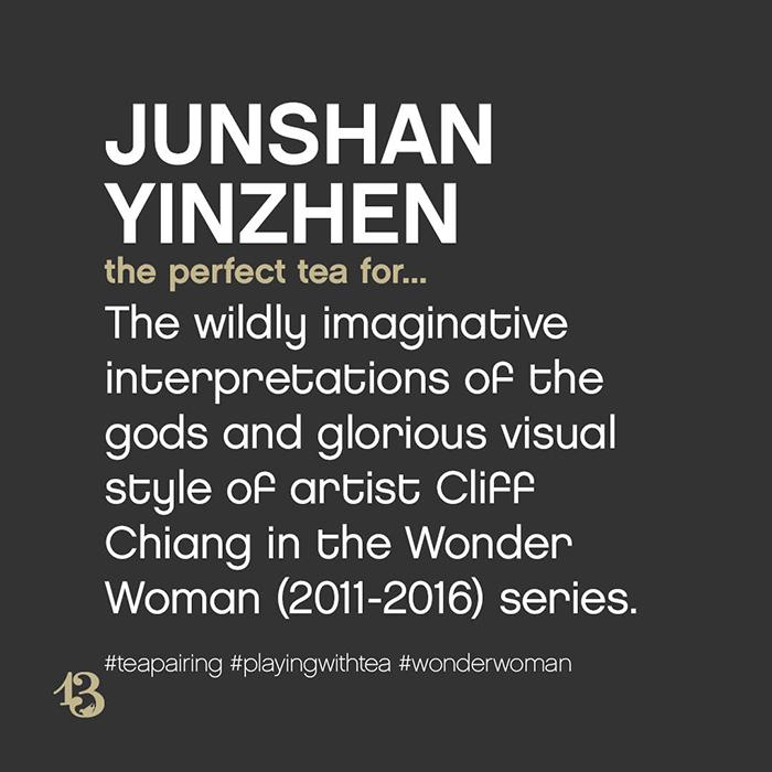 junshan yinzhen :: tea pairing