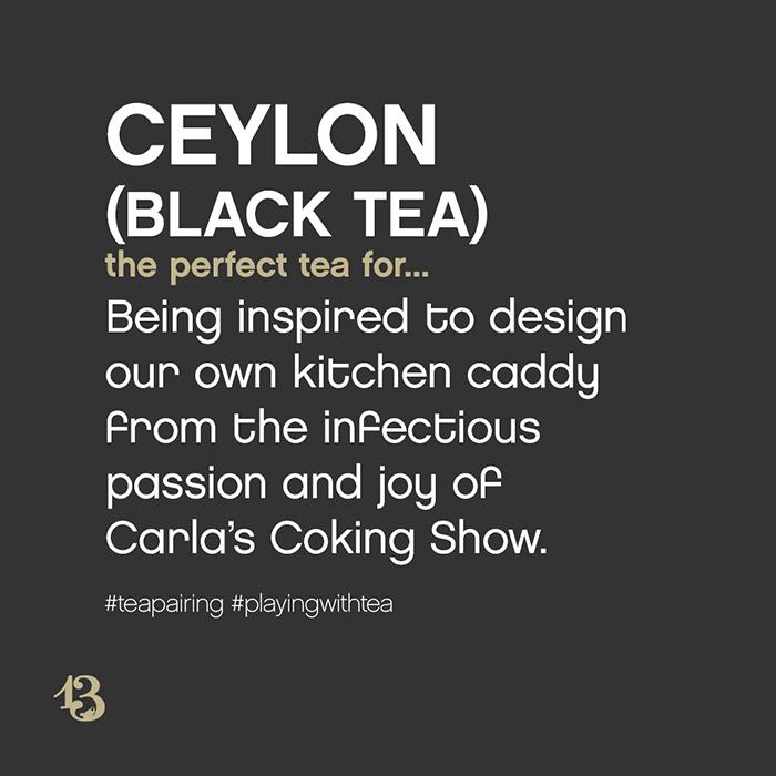 ceylon (black tea) :: tea pairing