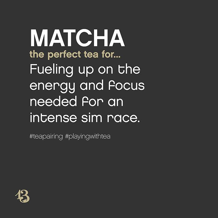 matcha :: tea pairing