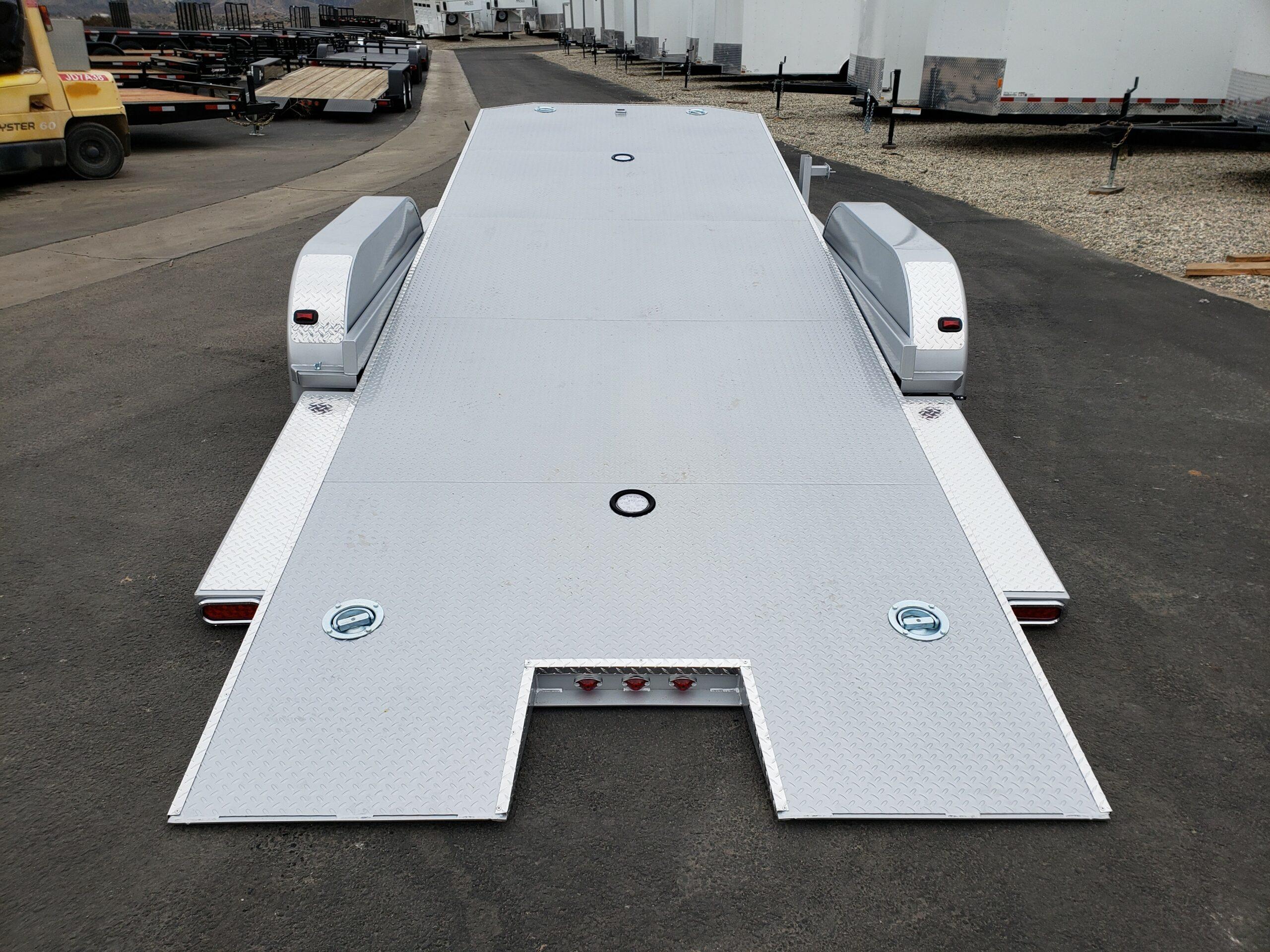 102 Ironworks Eliminator 20ft7K Tilt'B' - Rear view bed tilted