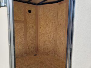 Viewing interior through side door