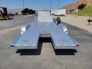 Rear view ramps in