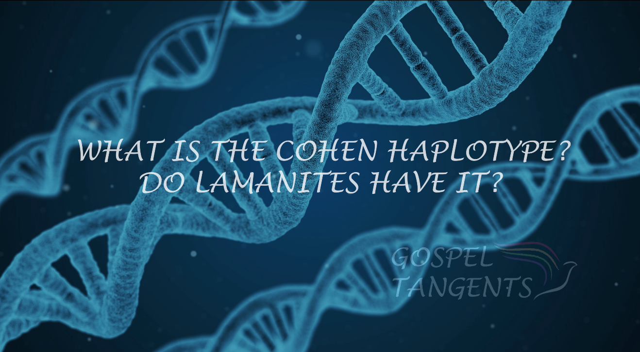 Cohen Haplotype is found among Jews.  Is it found in Native Americans?  What is the Lemba Tribe?