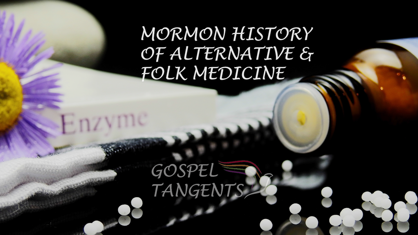 Jonathan Stapley compares early Mormon healings and seers to current alternative and folk medicine with people like Julie Rowe.
