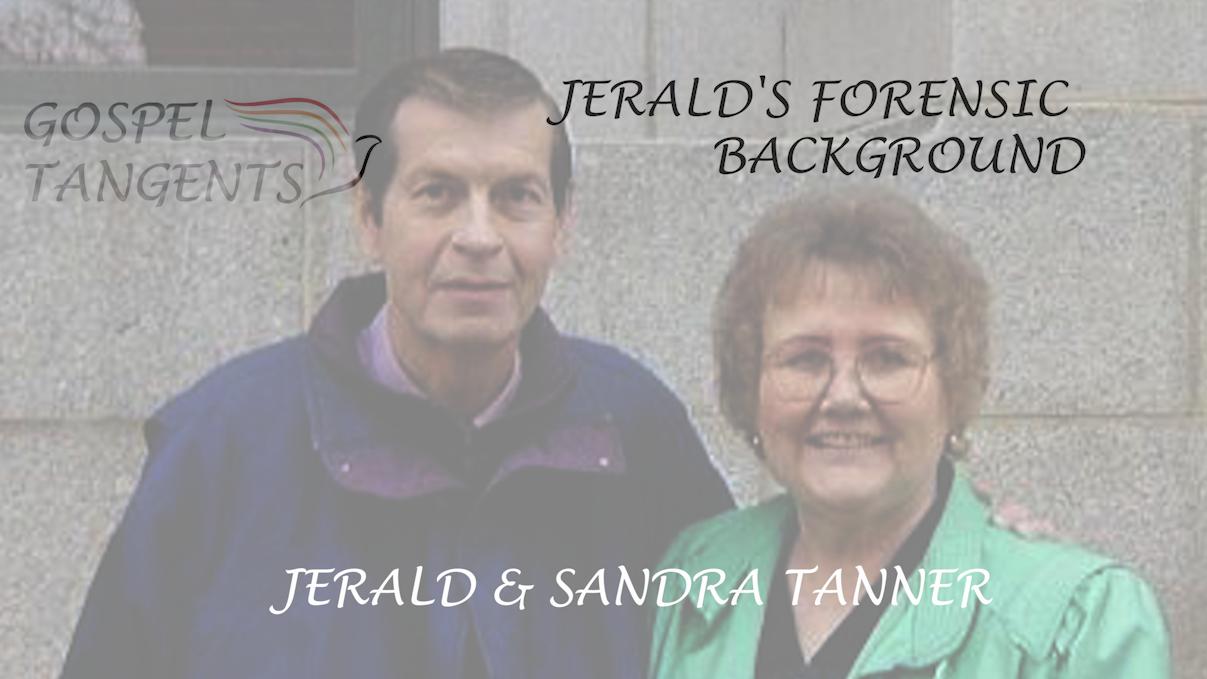 Sandra & Jerald Tanner in 1987