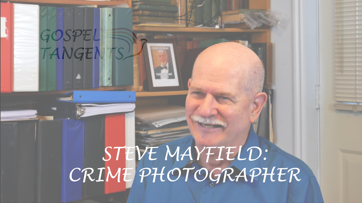 Steve Mayfield works in the Crime Lab in the Salt Lake City Police Dept as a crime scene photographer.