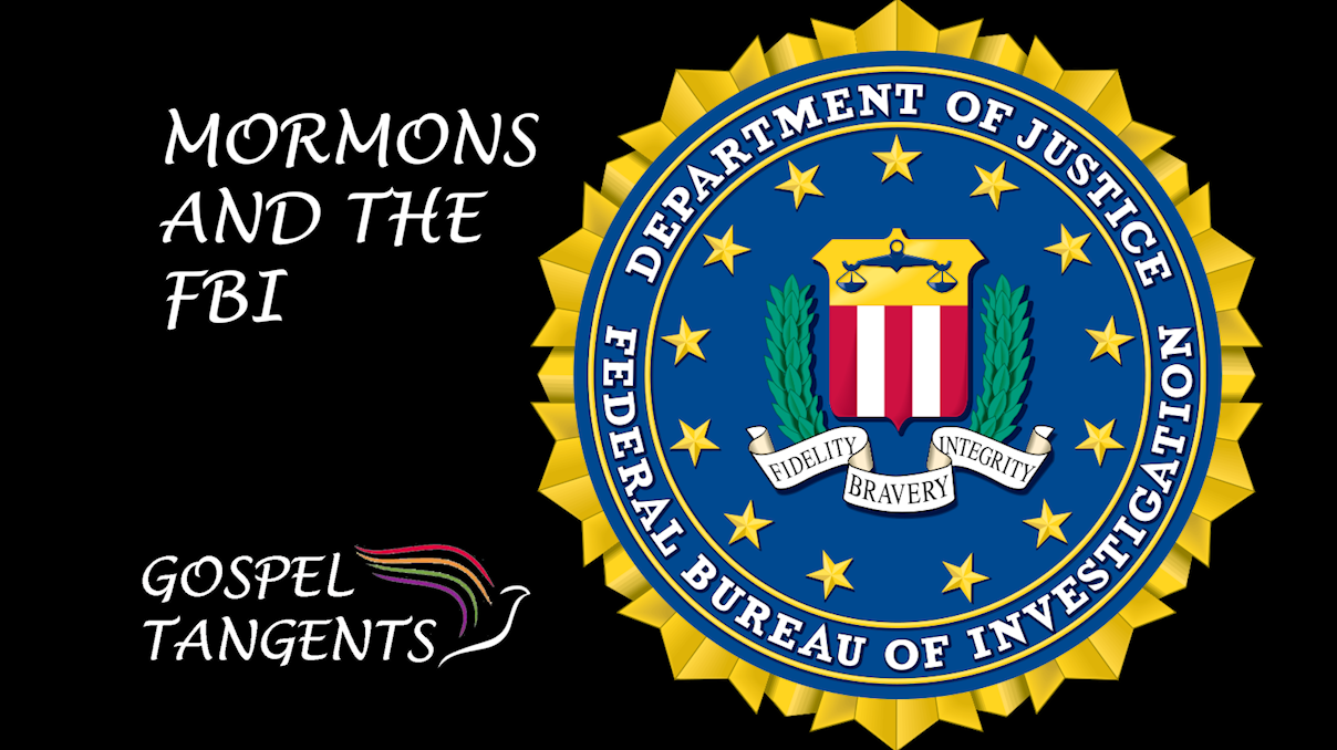 Steve Mayfield talks about good Mormon FBI agents, a Mormon FBI agent caught for spying, and a religious discrimination case involving Mormons & the FBI!