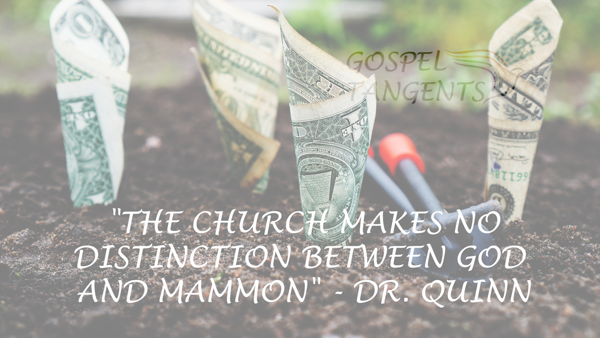 Does the LDS Church serve God and Mammon?