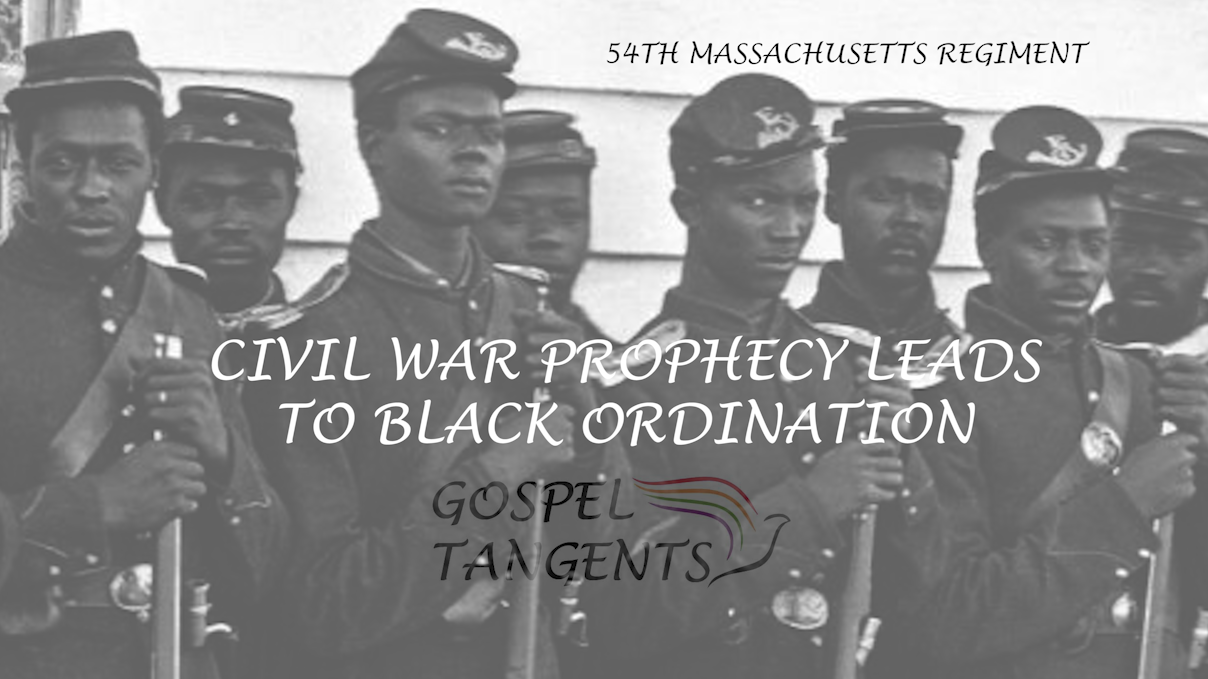 Joseph Smith's Civil War prophecy led William Bickerton to believe blacks were authorized to receive priesthood.   They are the first Latter-day Saint group to ordain a black apostle.