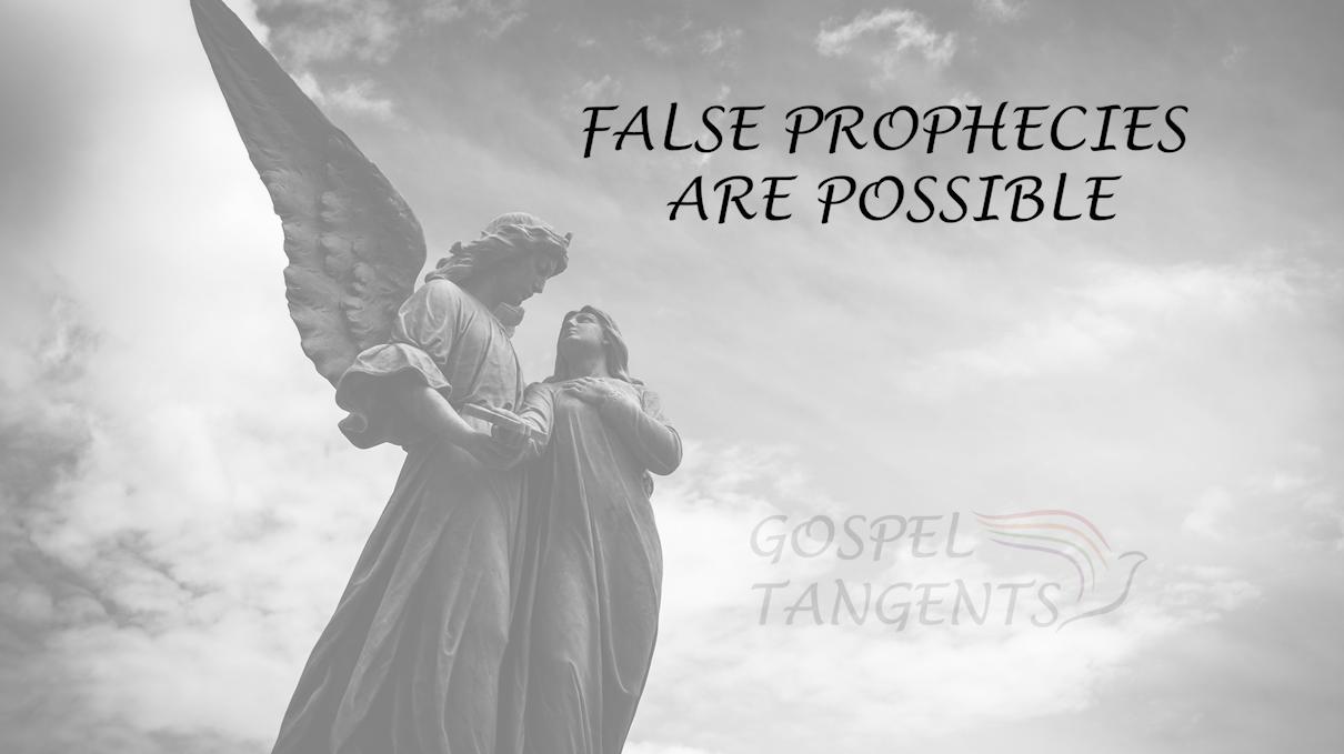 William Bickerton, prophet of Church of Jesus Christ in Monongahela, PA said prophet make mistakes, even in revelation. Dr. Daniel Stone tells more!