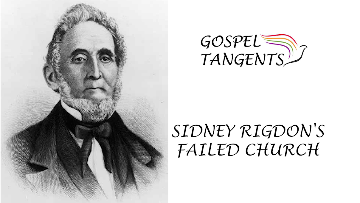 William Bickerton was baptized by Sidney Rigdon, but soon became disillusioned with Rigdon's leadership.
