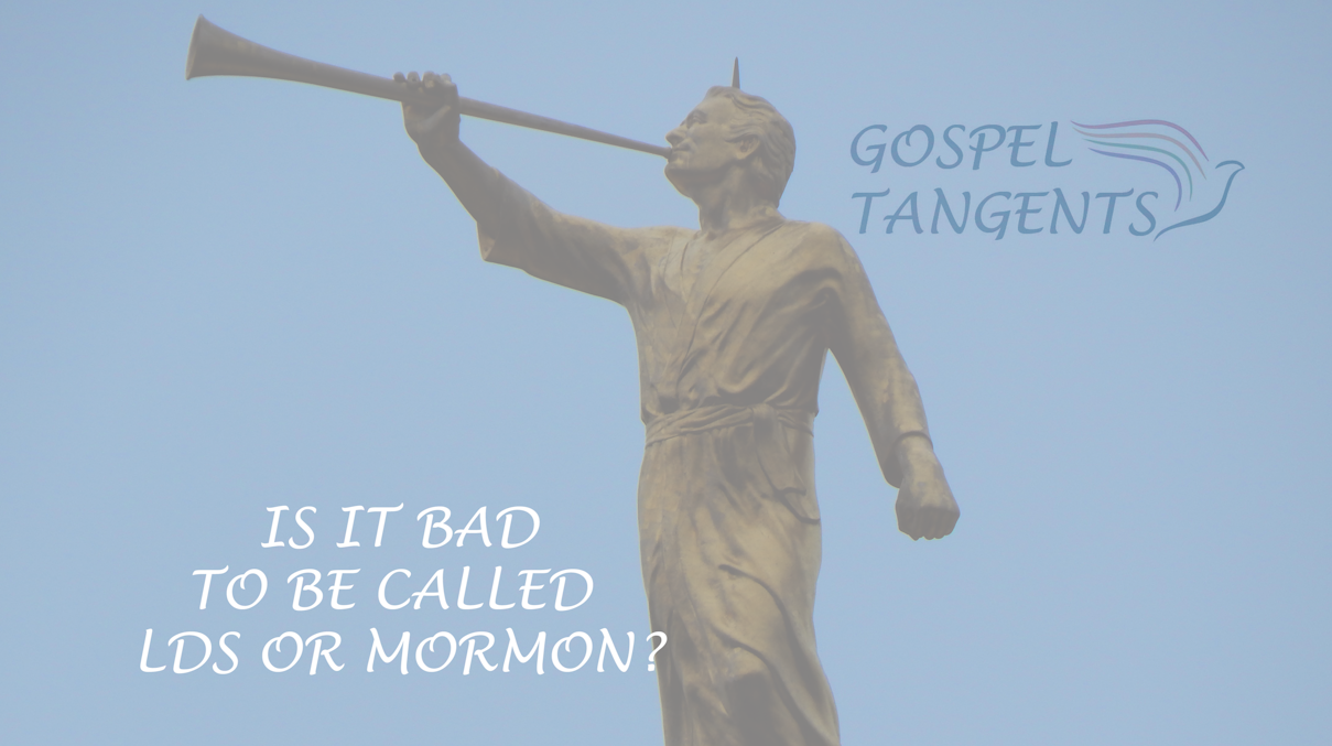 """President Nelson said calling when people say """"Mormon Church"""" it is a victory for Satan. Is it bad to refer to ourselves as LDS or Mormon? Kurt Francom answers."""
