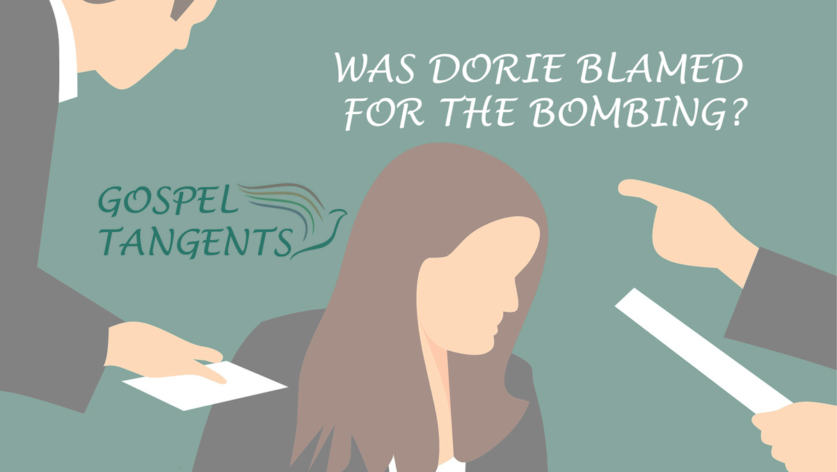 Mark Hofmann's parents blamed Dorie for the bombing, and for Mark's financial pressures.
