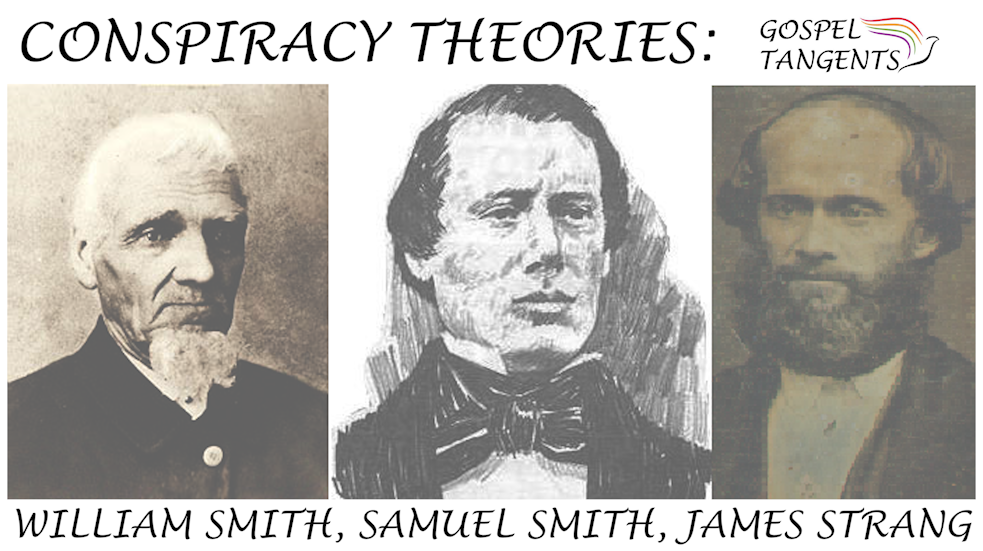 Steve Shields and I discuss the conspiracy theories against William & Sam Smith following the death of Joseph & Hyrum.