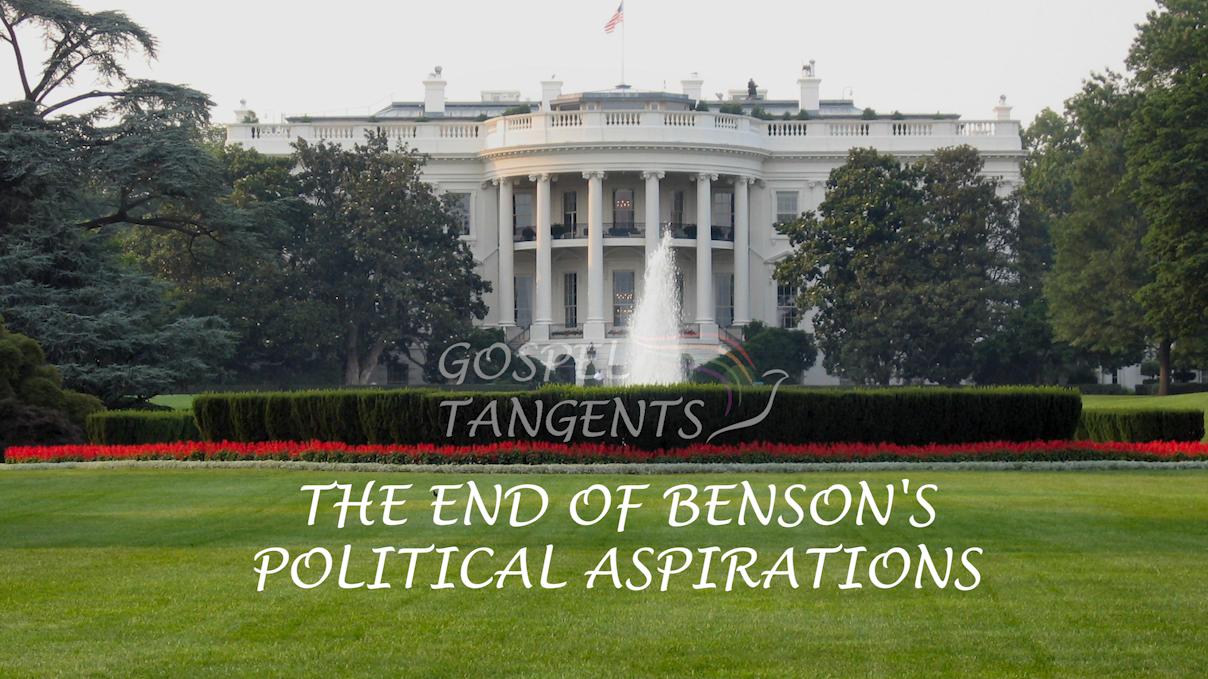 Dr. Matt Harris describes Ezra Taft Benson's attempts to run for POTUS and how his political career ended.