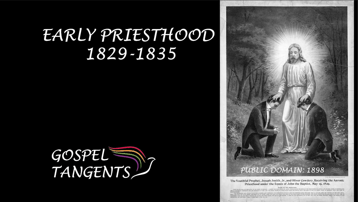 What was early priesthood like between 1829-1835 in the Church?